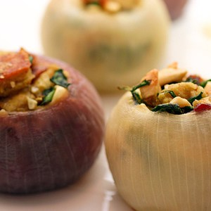 stuffed onions gourmet grilling