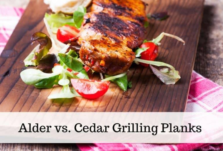 Alder Vs. Cedar Planks