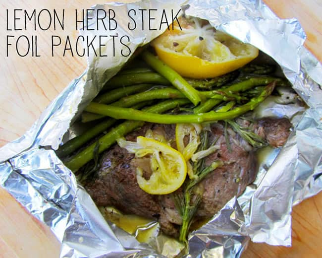 lemon herb steak