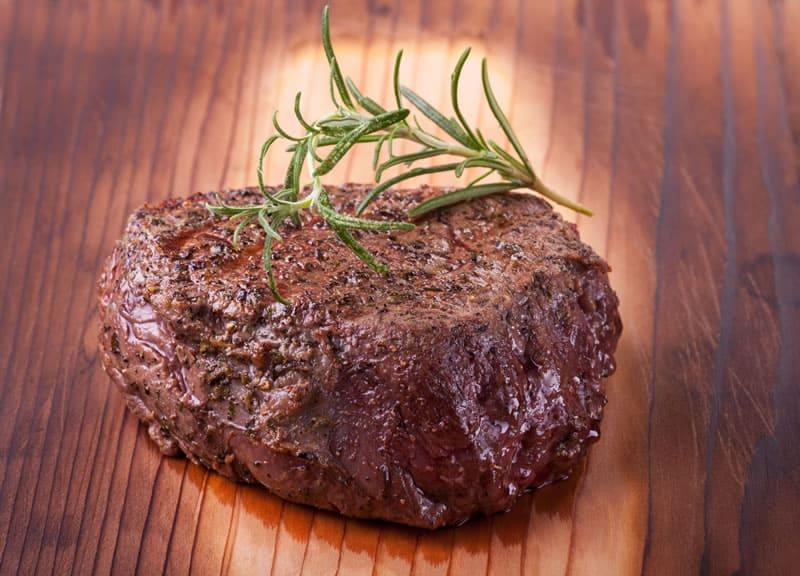 steak infrared grilling