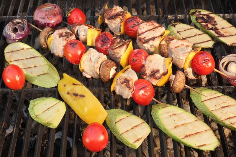 Grilled Squash