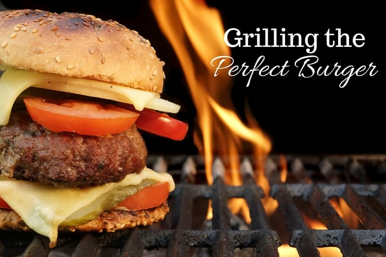 grilling the perfect burger