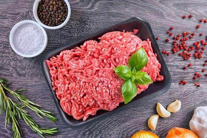 Season Ground Beef