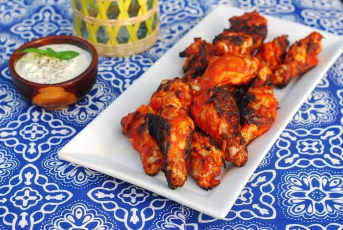 Chipotle Sriracha Buffalo Wings