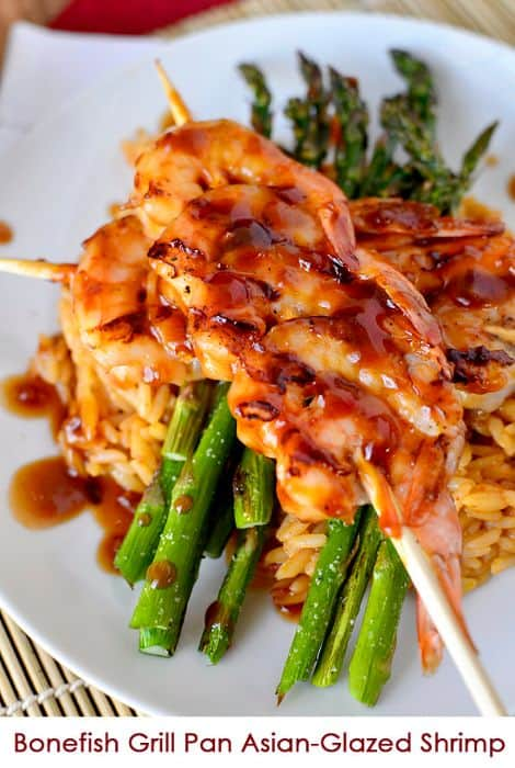 Copycat Bonefish grill Pan Asian Glazed Shrimp