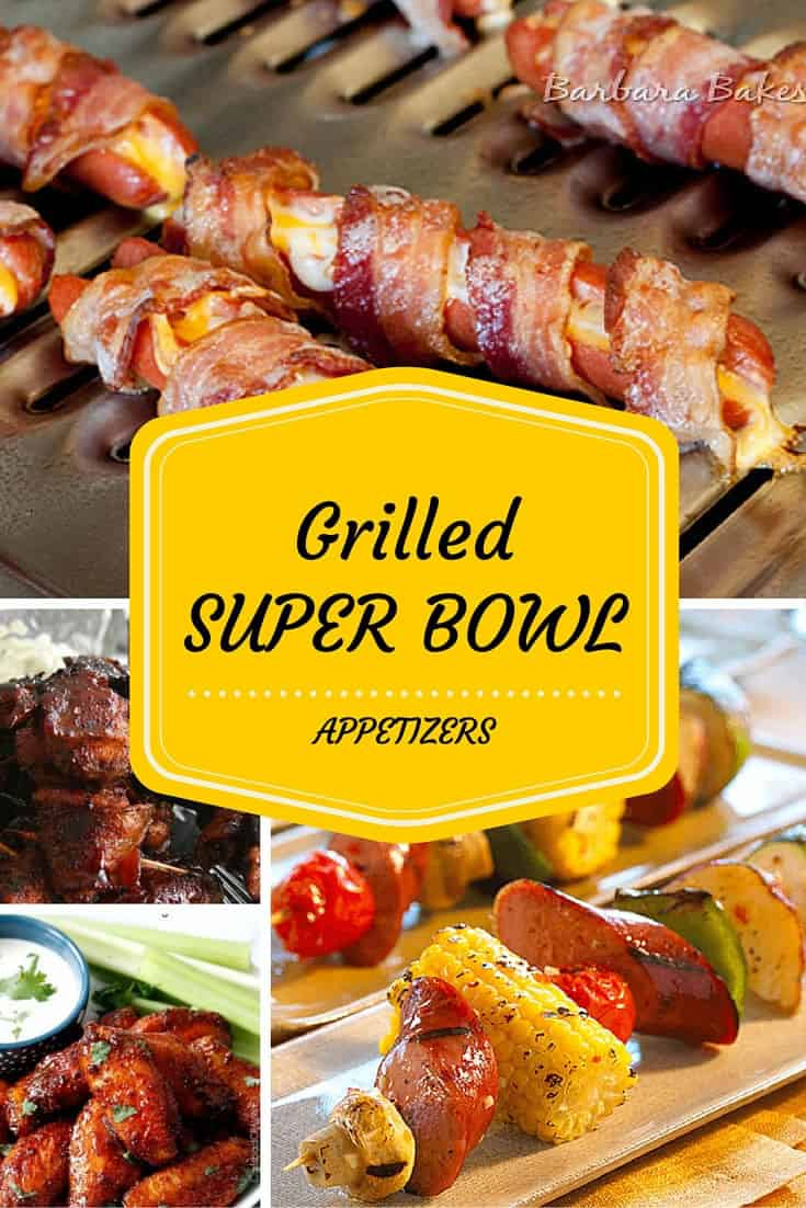 Grilled Super Bowl Appetizers