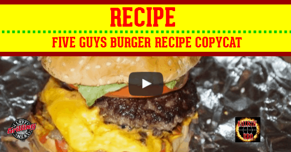 Five Guys Burger Copycat