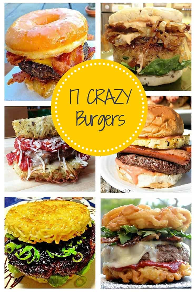 crazy burger recipes