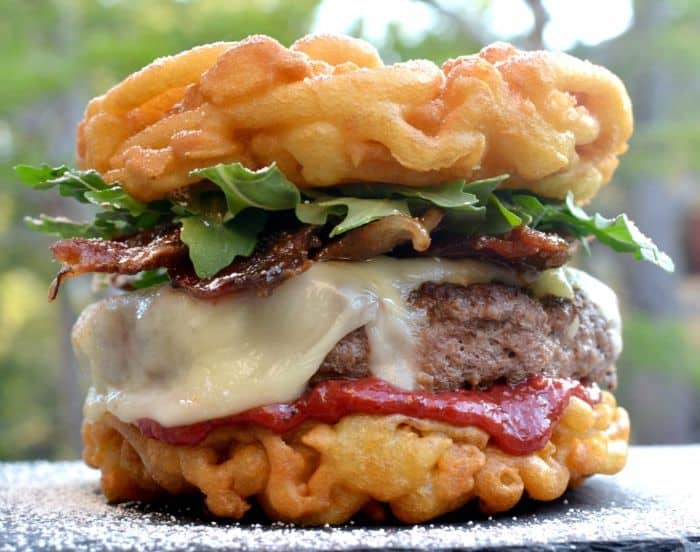 Funnel Cake Burger