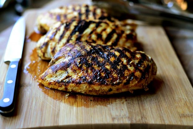 Lemon Dijon Grilled Chicken