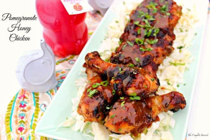 Pomegranate Honey Chicken