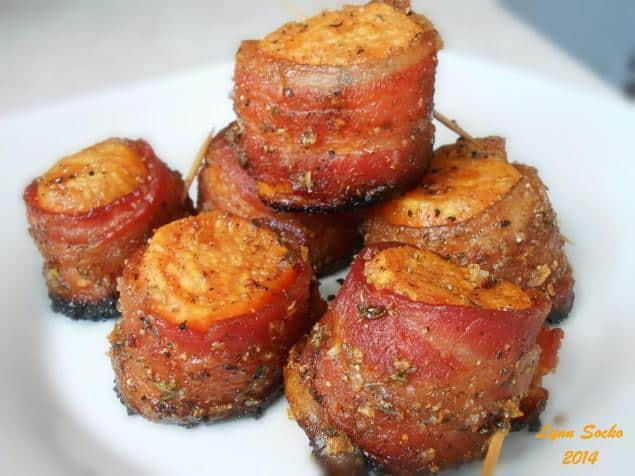 Sweet Potato Bacon Bites