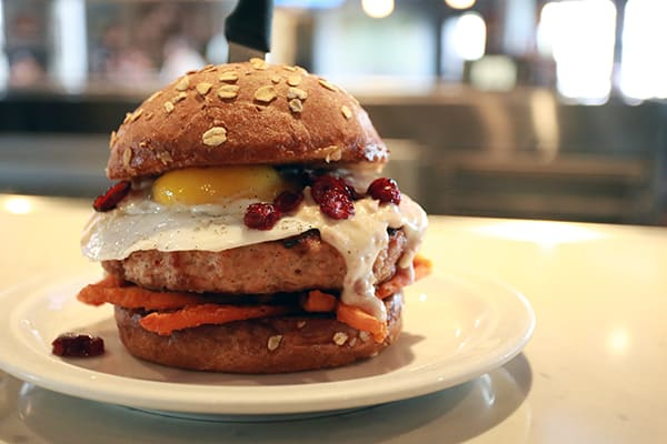 Turducken Burger