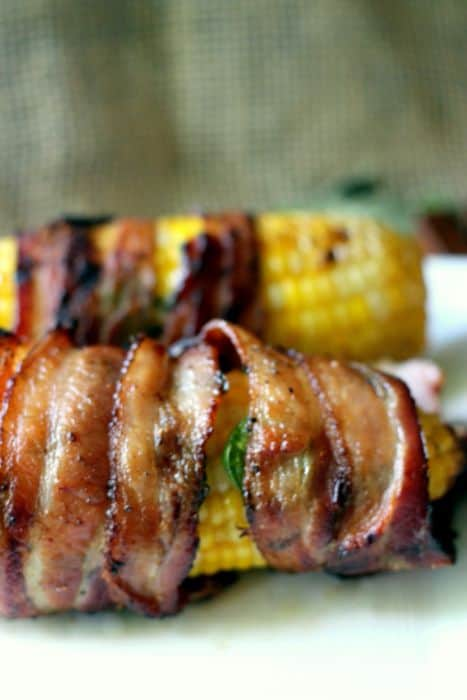 Bacon and Jalapeno Wrapped Corn on the Cob