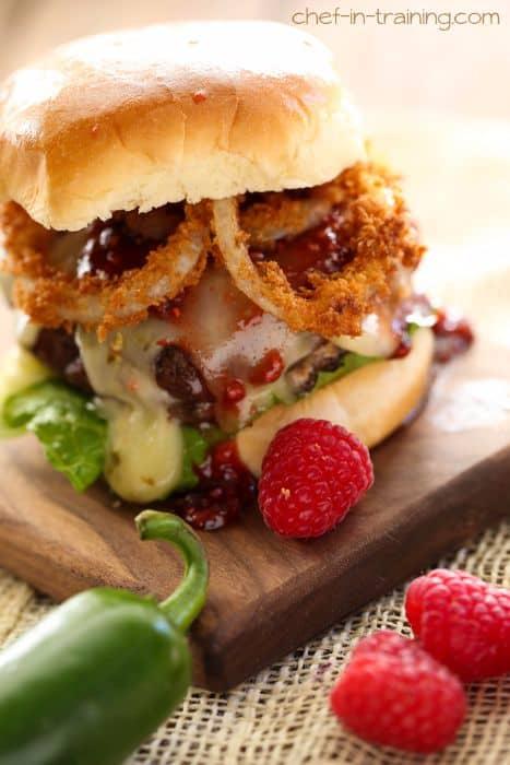 Creamy Jalapeno Stuffed Burger